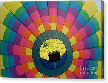 Balloon Lift-off  Canvas Print