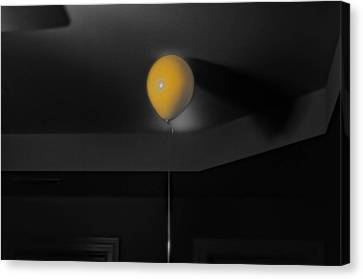 Balloon On Ceiling Canvas Print