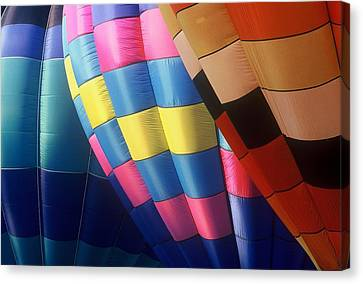 Canvas Print featuring the photograph Balloon Patterns by Rodney Lee Williams