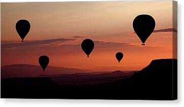 Hot Air Balloon Canvas Print - Balloons by Engin Karci