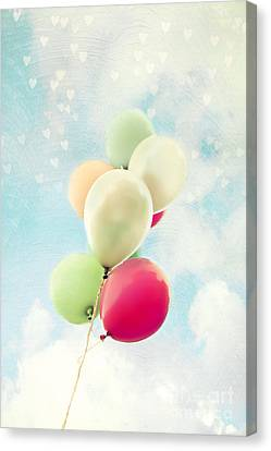 Balloons Canvas Print by Sylvia Cook