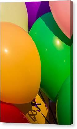 Inflatable Canvas Print - Balloons Vertical by Alexander Senin