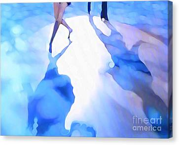 Ballroom Dance Floor Abstract 3 Canvas Print