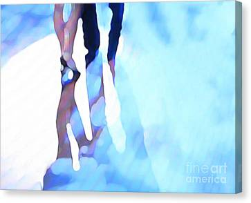 Ballroom Dance Floor Abstract 4 Canvas Print