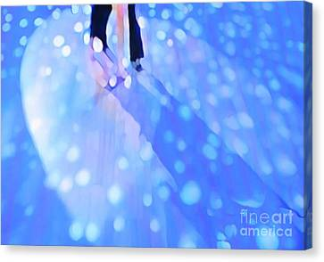Ballroom Dance Floor Abstract 5 Canvas Print