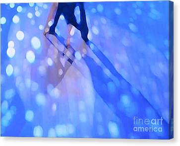 Ballroom Dance Floor Abstract 6 Canvas Print