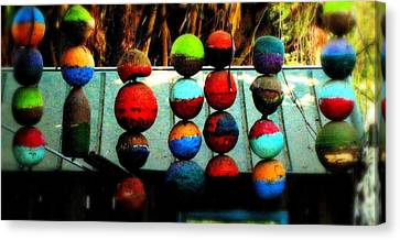 Balls From Heaven Canvas Print by Claudette Bujold-Poirier