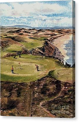 Kerry  Ballybunion G C Canvas Print