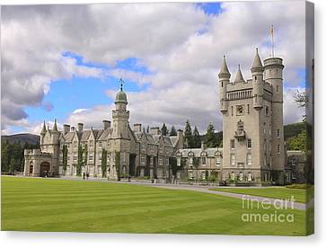 Balmoral Castle In Scotland Canvas Print by Patricia Hofmeester