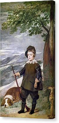 Baltasar Carlos (1629-1646) Canvas Print by Granger