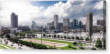 Baltimore Maryland Canvas Print by Olivier Le Queinec