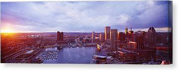 Baltimore Maryland Usa Canvas Print by Panoramic Images