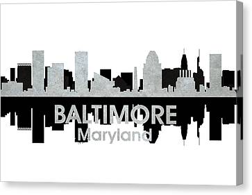 Baltimore Md 4 Canvas Print by Angelina Vick