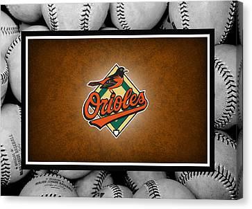 Oriole Canvas Print - Baltimore Orioles by Joe Hamilton
