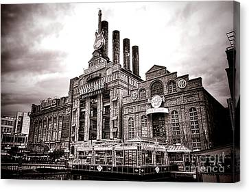 Complex Canvas Print - Baltimore United Railways And Electric Company by Olivier Le Queinec