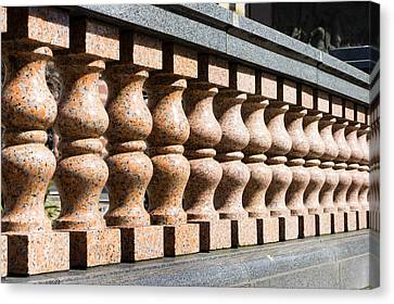 Balustrade Wall Canvas Print by Tom Gowanlock