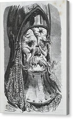 Balzac Canvas Print - Balzac, Honor� De 1799-1850 Dore, Paul by Everett