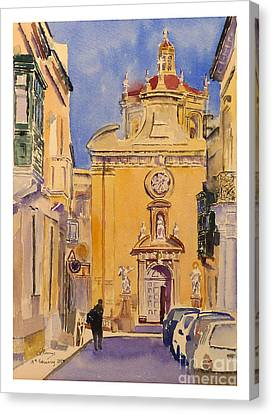 Balzan Parish Church Canvas Print