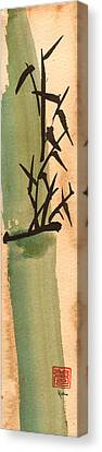 Bam Bamboo 4 Canvas Print by Skip Roma