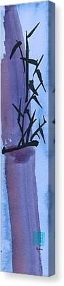Bam Bamboo 4b Canvas Print