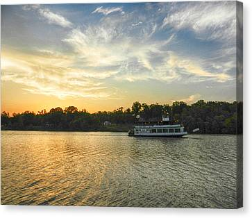 Bama Belle Sunset Canvas Print by Ben Shields