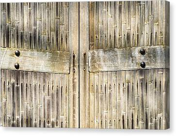 Bamboo Gates Canvas Print by Alexander Senin
