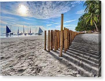 Canvas Print - Bamboo Stripe by Mario Legaspi