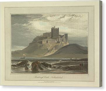 Bamborough Castle Canvas Print by British Library