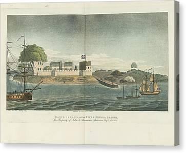 Bance Island Canvas Print