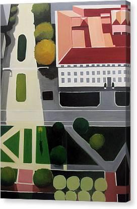 Bancroft Library Canvas Print