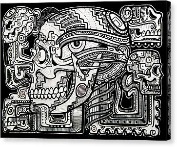 Band Of Skulls Canvas Print