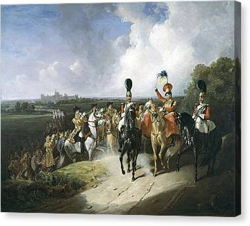 Band Of The Second Regiment Of Life Canvas Print