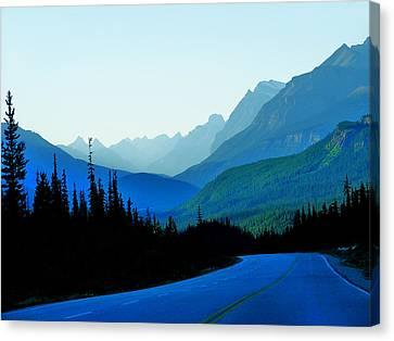Banff Jasper Blue Canvas Print by Blair Wainman
