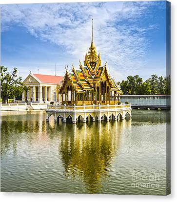 Bang Pa In Palace Thailand Canvas Print by Colin and Linda McKie