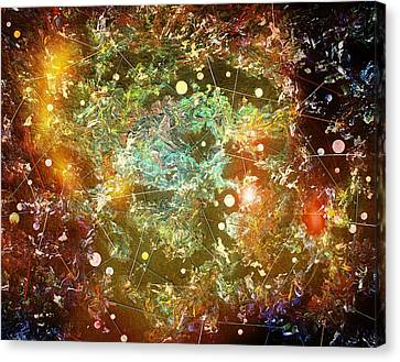 Bang Canvas Print by Scott Kingery