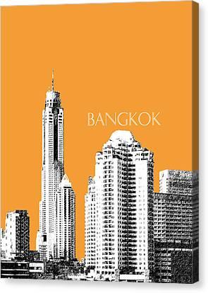Bangkok Thailand Skyline 1 Canvas Print