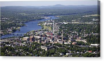 Bangor, Maine Canvas Print by Dave Cleaveland