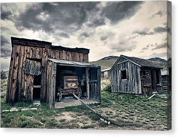 Bannack Carriage House Canvas Print