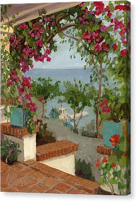 Banning House Bougainvillea Canvas Print