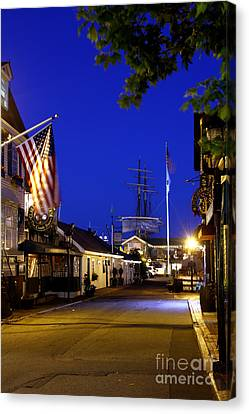 Bannister's Wharf I Canvas Print by Butch Lombardi