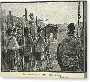 Independance Canvas Print - Bannockburn by British Library