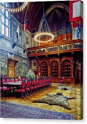 Banquet Hall Of The Biltmore Canvas Print