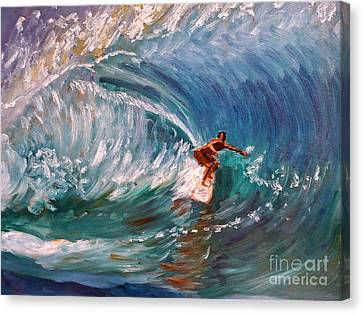 Banzai Pipeline In Oahu Canvas Print