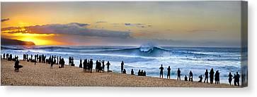 Banzai Sunset Canvas Print