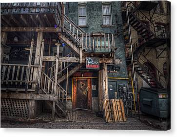 Bar Entrance Canvas Print by Bryan Scott