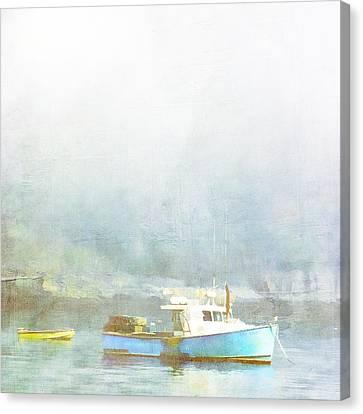 Bar Harbor Maine Foggy Morning Canvas Print