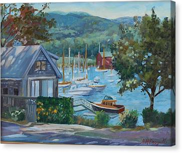 Bar Harbor Maine Canvas Print