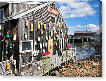 Bar Harbor Restaurant Canvas Print