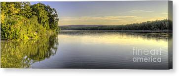 Bar Lake In Empire Canvas Print by Twenty Two North Photography
