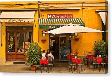 Bar San Giusto Canvas Print